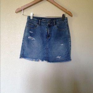 Girl Jean skirt